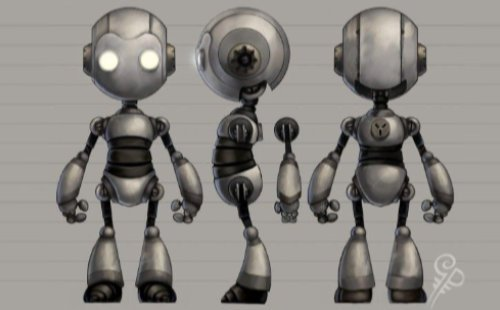 funny robot style sheet