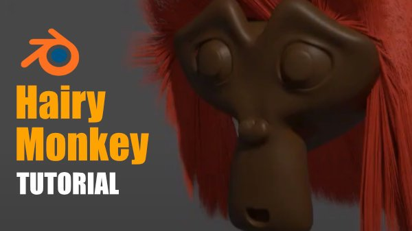 hairy monkey blender tutorial